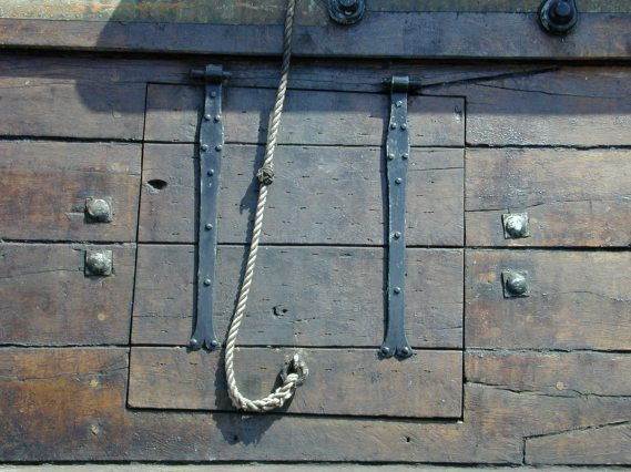 wooden hatch